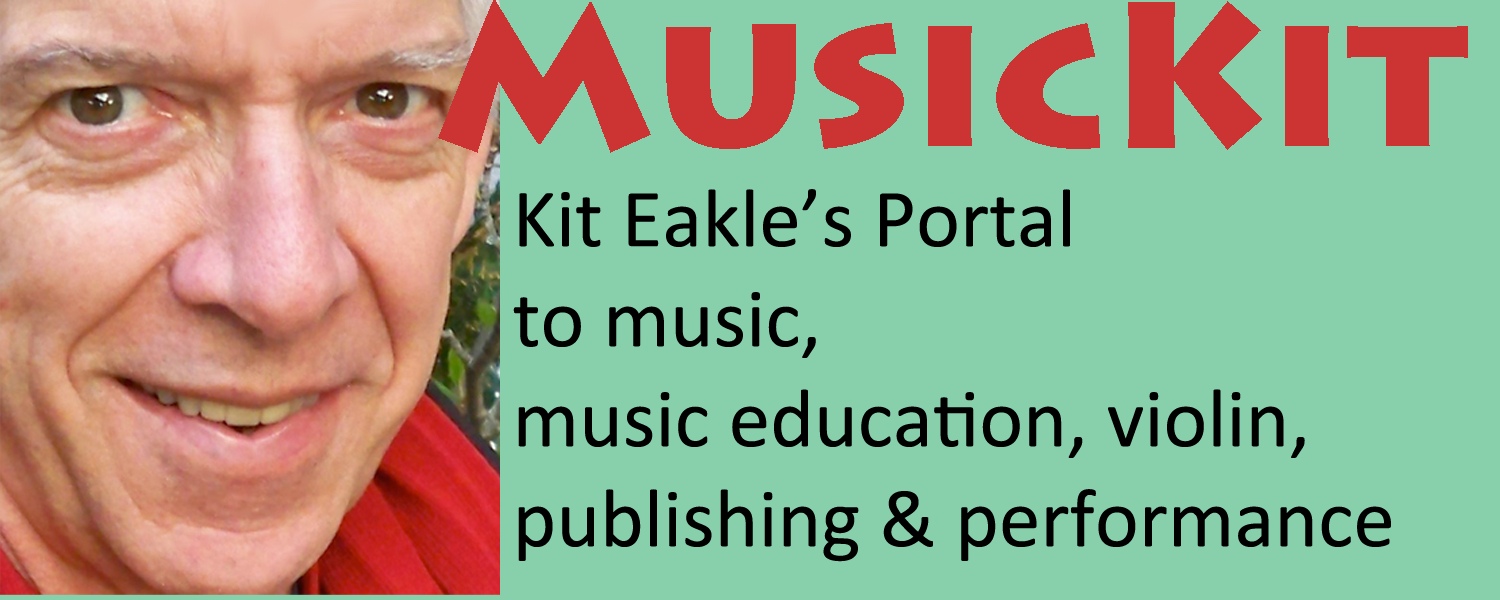 Portal to Kit Eakle's Music